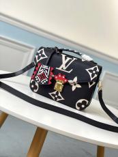 M45385 Louis vuitton/LV Pochette Métis crafted handbag monogram-printed vintage messenger crossbody bag with detachable strap and iconic S-lock