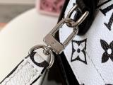 M53545 Louis Vuitton/LV hot spring mini backpack mixed-material versatile drawstring handbag