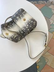 M55947 Louis Vuitton/LV pont 9 handbag vintage crossbody messenger bag with charming Lv circle of classic house signature
