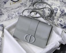 Dior classic 30 Montaigne vintage flap messenger crossbody bag with symbolic CD clasp and ultramatte hardware