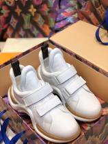 Louis Vuitton/LV female lightweight shockproof archlight sneaker breathable elastic athletic shoe trainer runner shoe