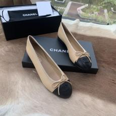 Chanel classic female bowknot flat ballerina shoe skim-proof loafer breathable toe shoe