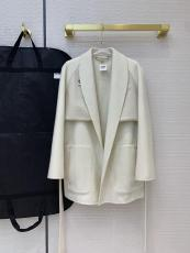 Hermes lady luxury casual two-pieces-set cashmere trench coat cold-proof waterproof bathrobe dust coat  windbreaker with waisted belt