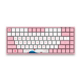 AKKO Keycaps World Tour-Toyko Special Design OEM Profile PBT Keycap Set for 108 Mechanical Keyboard - Sakura Pink