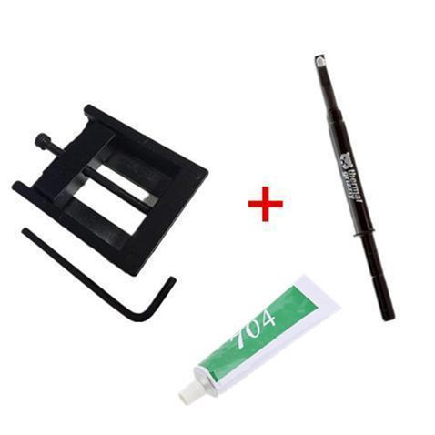 Thermal Grizzly Conductonaut Thermal Grease Paste - 1.0 Gram Model TG-C-001-R with CPU cap opener for 3770K 4790K 6700K E3-1230 7700K 8700K 115x interface CPU Decrimper