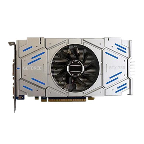CORN GTX750 Graphic Card 1GB 128 Bit DDR5 DirectX 11 Video Card GPU PCI Express3.0 16X DVI/VGA/HDMI