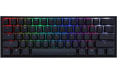 Ducky One 2 Mini RGB Cherry MX Switch PBT Keycap 60% RGB Mechanical Gaming Keyboard