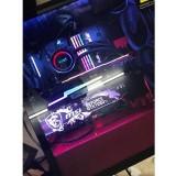 Corn Electronics Universal 11 Colors Remote Control LED Acrylic GPU Brace 11'' - MSI GeForce GTX 1080 Ti Version