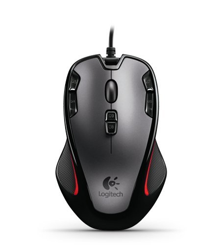 Logitech G300 Black/Grey 9 Buttons 1 x Wheel USB Wired Optical 2500 dpi Gaming Mouse