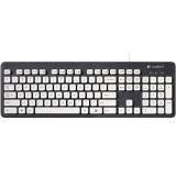 Logitech K310 920-004033 Wired Washable Keyboard - Black/White