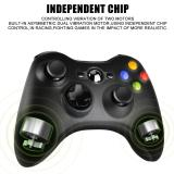 Xbox 360 Wireless Controller 2.4GHZ Gamepad with ReceiverCORN Dual Vibration Enhanced Game Controller for for Microsoft Xbox & Slim 360 PC Windows 7,8,10 & PS3