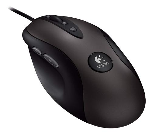 Logitech G400 Black 8 Buttons 1 x Wheel USB Wired Optical 3600 dpi Gaming Mouse