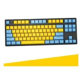 CORN Electronics PBT Keycaps 104Key Set OEM Profile Key caps, with Keycaps Puller,for 61/87/104 MX Switches Mechanical Gaming Keyboard