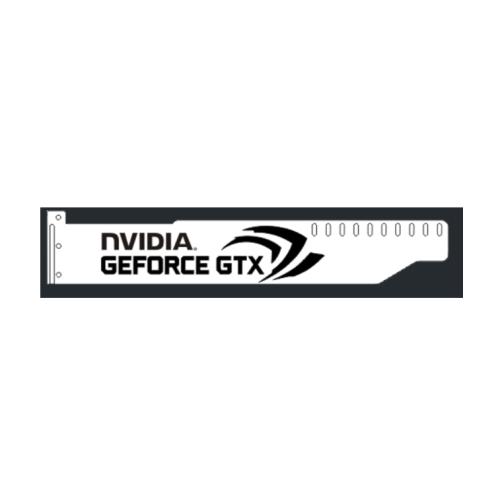 Corn Electronics Universal 11 Colors Remote Control LED Acrylic GPU Brace 11'' - NVIDIA Version