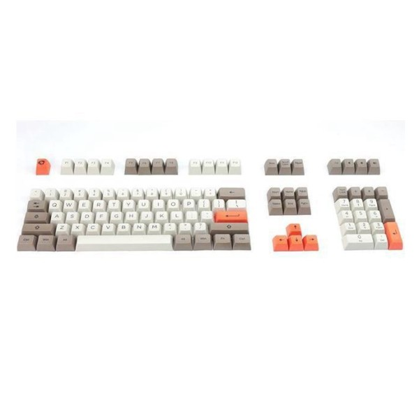 Akko SA-Steam Engine Time Mechine of Culture Version 108 Key OEM Profile PBT Dye-subbed Keycap Keycaps Set for Mechanical Keyboard