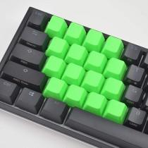 CORN Blanks TPR Rubber Gaming Keycaps 4 Keys Set 1u for Cherry MX Mechanical Keyboards Compatible OEM