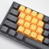 CORN Blanks TPR Rubber Gaming Keycaps 4 Keys Set 1u for Cherry MX Mechanical Keyboards Compatible OEM