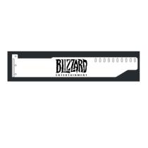 Corn Electronics Universal 11 Colors Remote Control LED Acrylic GPU Brace 11''   -  Blizzard