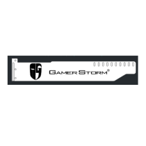 Corn Electronics Universal 11 Colors Remote Control LED Acrylic GPU Brace 11''   -  GamerStorm