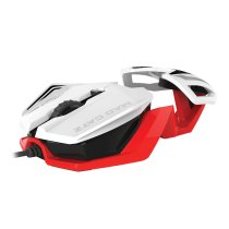 Mad Catz R.A.T.1 MCB437260001/06/1 White 6 Buttons Wired 3500 dpi Gaming Mouse