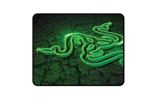 Razer Goliathus Control (Small) Gaming Mouse Pad: Medium Friction Mat - Anti-Slip Rubber Base - Portable Cloth Design - Anti-Fraying Stitched Frame - Fissure