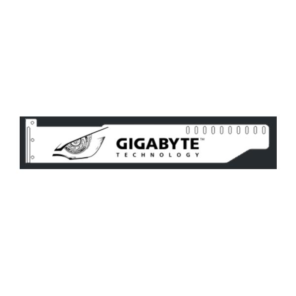 Corn Electronics Universal 11 Colors Remote Control LED Acrylic GPU Brace 11''   -  GIGABYTE