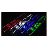 Corn Electronics Universal 11 Colors Remote Control LED Acrylic GPU Brace 11''   -  Battlegrounds