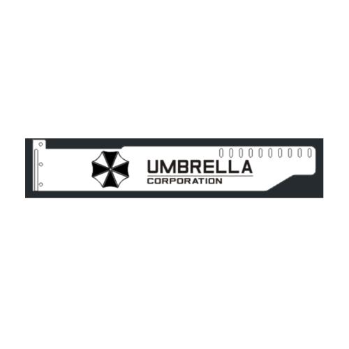 Corn Electronics Universal 11 Colors Remote Control LED Acrylic GPU Brace 11''   -  Umbrella