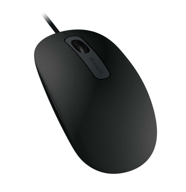 Microsoft Optical Mouse 100 Black 3 Buttons 1 x Wheel USB Wired 1000 dpi