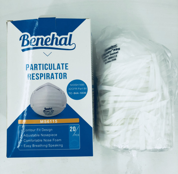 KN95 Particulate Performance Disposable Paint Prep Respirator (20-Pack)