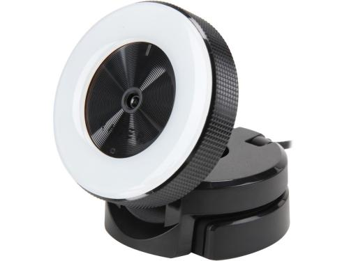 Razer Kiyo Full HD Streaming Web Camera with Illuminating Ring Light and Advanced Autofocus - RZ19-02320100-R3U1
