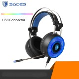 Sades G60  7.1 Channel Gaming Headset for PC and Laptop, Cool Breathing Backlit