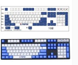 CORN Pepsi Theme PBT Keycaps(134pcs) for FILCO IKBC Cherry, Original Height Support108 64 78 84 96Keys Layout Keyboard