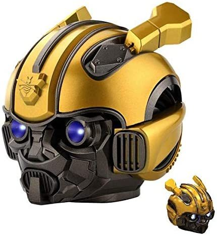 Bumblebee Transformers cassa Bluetooth Speaker Wireless V5.0,TF Card & MP3 Player,3W with 1200MAh Battery,Subwoofer Smart Speakers Best Gift for Birthday for Kid Gift