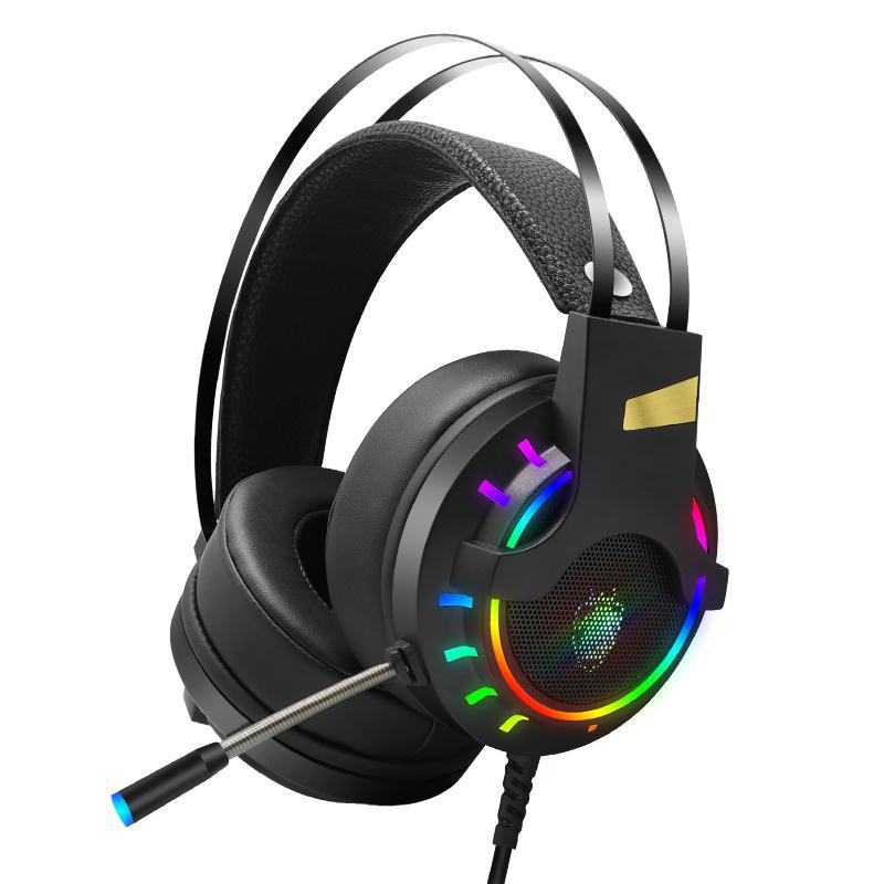 CORN K3 7.1 Stereo Sound RGB Backlit Effect USB Wired Gaming Headset