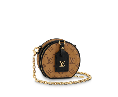 Louis Vuitton Monogram Canvas Boite Chapeau Chain Bag M68577