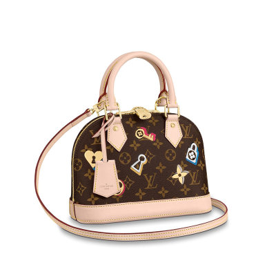 Louis Vuitton Monogram Canvas Charming Alma BB Handbag Bag M44368
