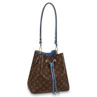 Louis Vuitton Monogram Canvas NeoNoe MM Bucket bag Blue M43569