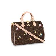 Louis Vuitton Monogram Canvas Speedy Bandouliere 30 Handbag Bag M44365