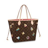 Louis Vuitton Monogram Canvas Neverfull MM Tote Bag M44364