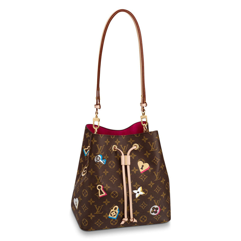 Louis Vuitton Monogram Canvas Neonoe Bucket Bag Tote M44369