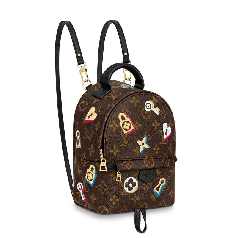 Louis Vuitton Monogram  Canvas Palm Springs Mini Backpack Bag M44367