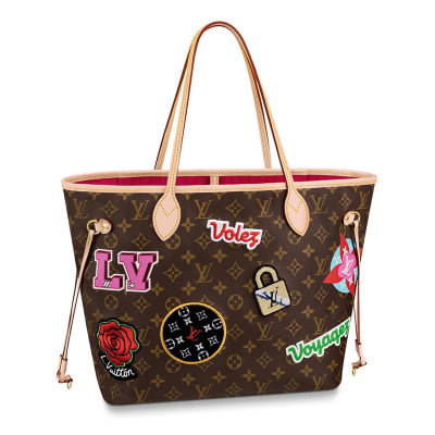 Louis Vuitton Monogram Canvas Neverfull MM Tote Shopping Bag M43988