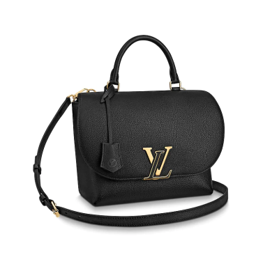 Louis Vuitton Soft Calfskin Volta Classic Messenger Bag Black M53771
