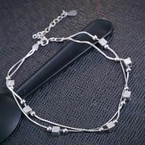 silver bracelet MLL154