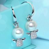 silver earring BL130212