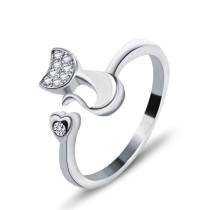 silver ring MLK74
