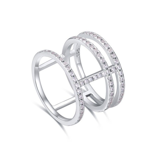 silver ring 22279