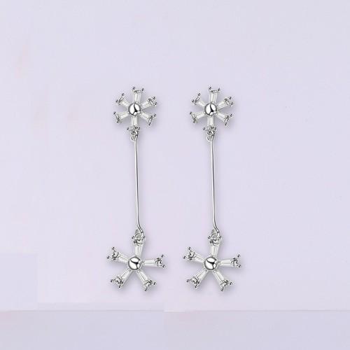 silver earring MLE1838-1