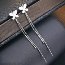 silver earring MLE418